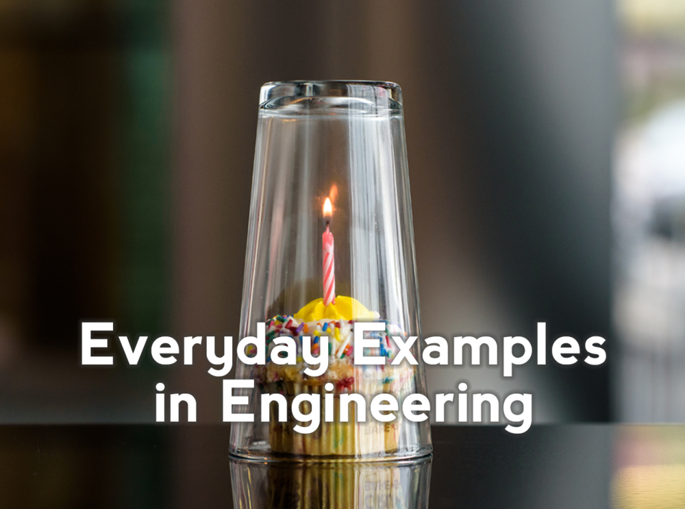 Connect engineering concepts to Everyday Examples in Engineering (E³s) that students can more easily relate to. Click here to learn about the research behind why E³s work to retain students.