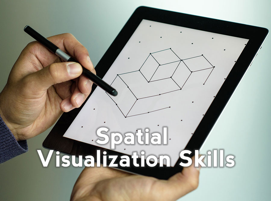 Improve the  Spatial Visualization Skills  (SVS) of students to increase their success in gateway engineering courses.  Click here to learn about the research behind why Spatial Visualization Skills work to retain students.