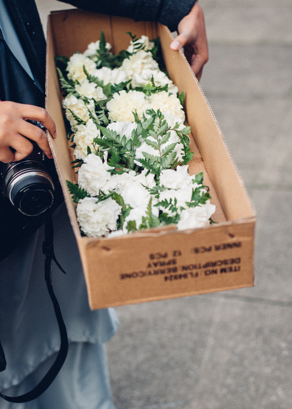 White Carnation Boutonnieres