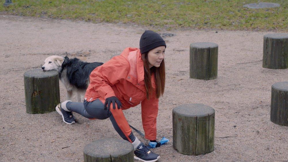 Liikuntaa ja lepoa oikeassa suhteessa :D