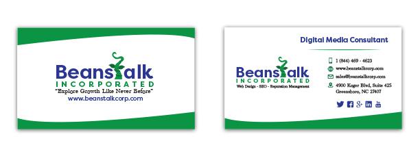 Business cards dapper design studio colourmoves