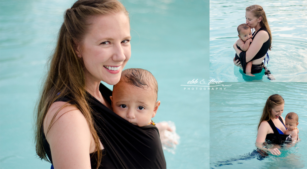 babywearing-in-the-pool