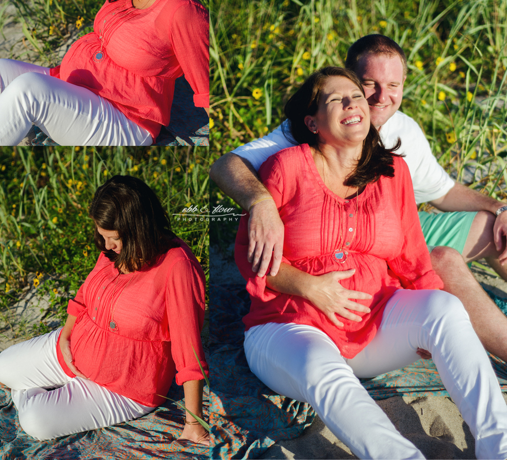 Beach Maternity Photography // Jupiter, Florida // Ebb and Flow Photography