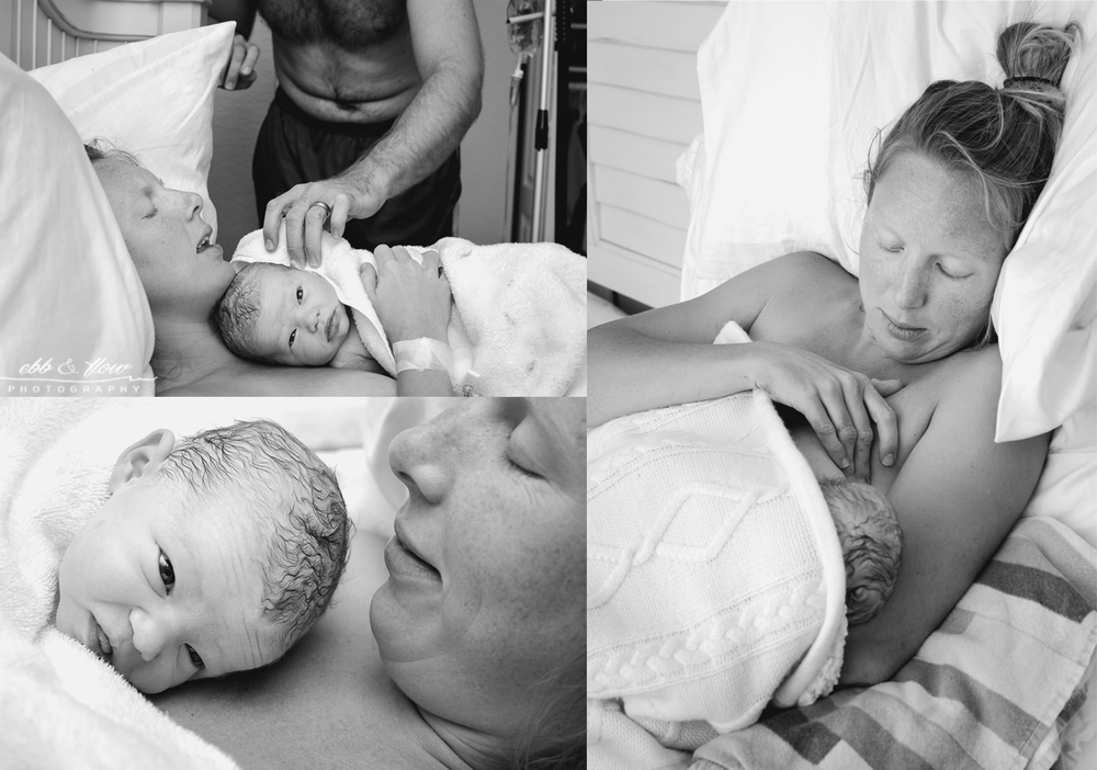 Hypnobirth-Home Birth-Water Birth // Ebb and Flow Photography