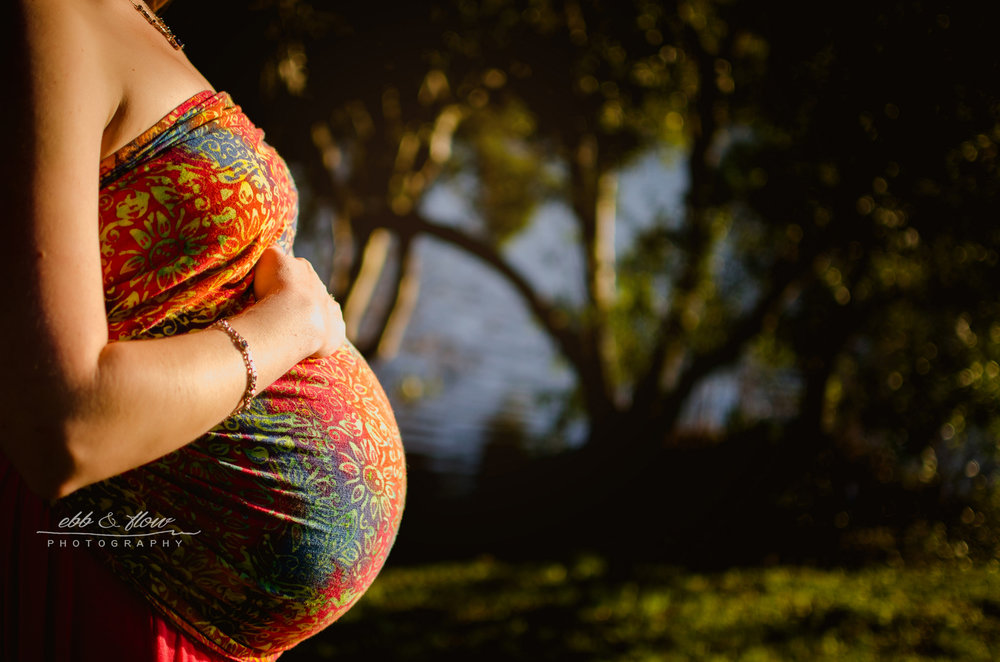 wrapsody jennifer - maternity belly wrapping - ebb and flow photography