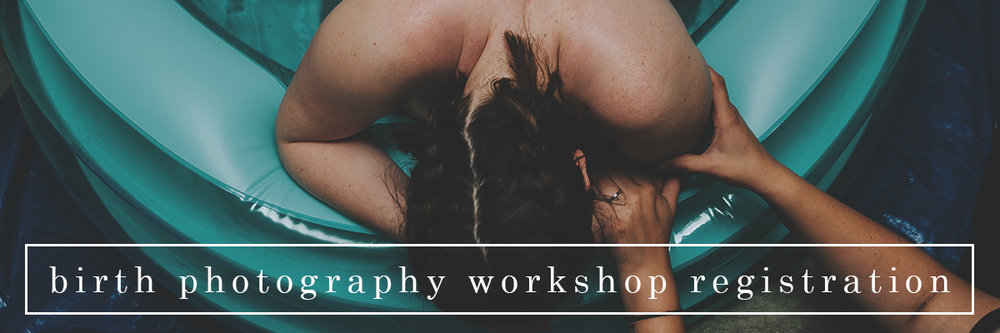 birth photography workshop registration // ebb and flow photography