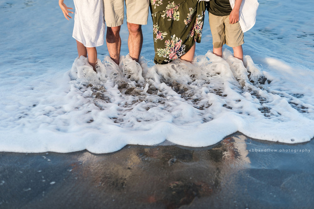 Florida Family Vacation Beach Session - Fort Pierce Family Photographer - Ebb and Flow Photography