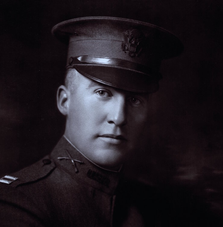 Dean Witter volunteered for duty in both World War I and World War II, during which he attained the rank of Colonel.