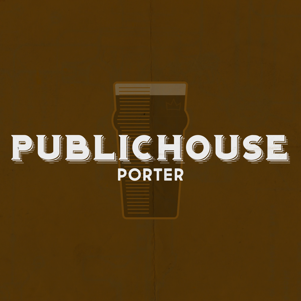 PUBLIC HOUSE Porter - Style: American PorterAlcohol by Volume: 5.6%Glassware: NonicMalt: English Pale, ChocolateSpecial Ingredients: Toasted OatsNotes: Smooth mouthfeel. A good social beer. Great with food. Drink many!