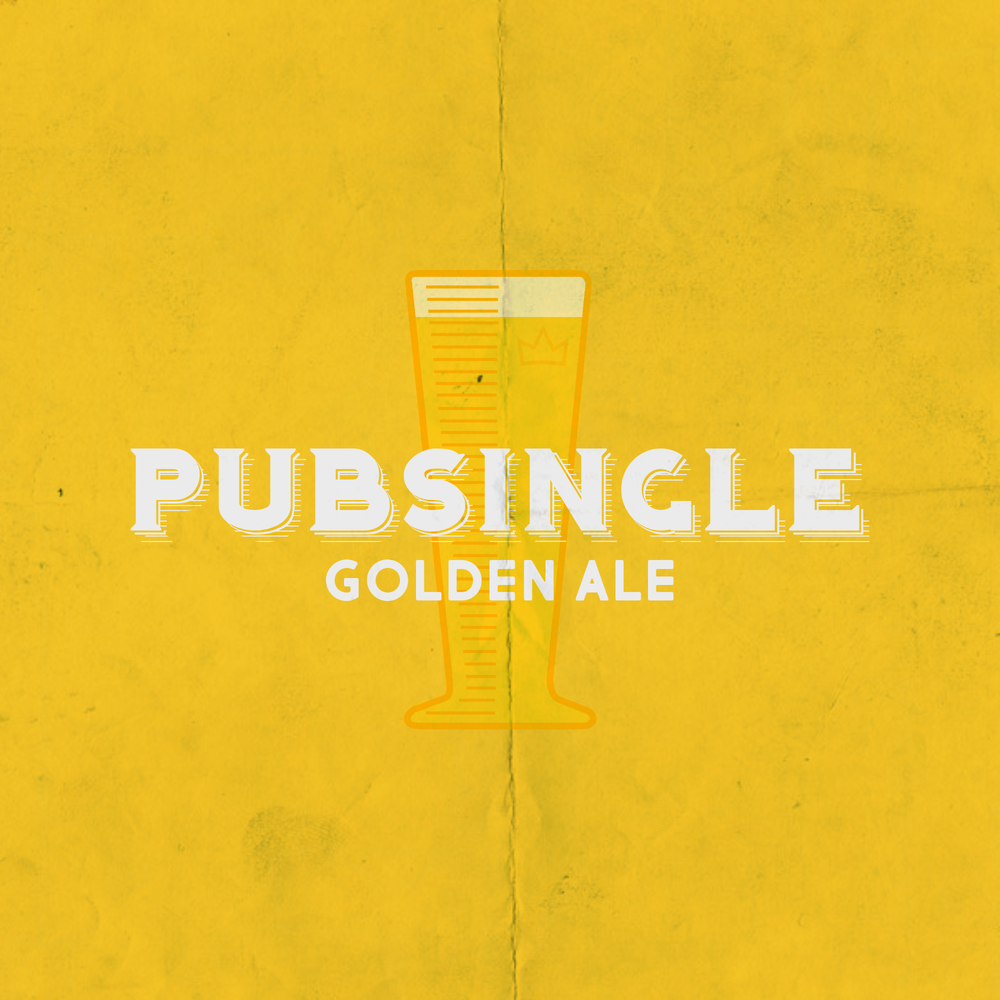 PUB SINGLE Golden Ale - Style: Golden AleAlcohol by Volume: 5.4 %Glassware: PilsnerMalt: 2-Row, Pilsner, WheatHops: Crystal, Willamette, LoralNotes: Light and crisp. Slight herbal and fruity notes from the Loral hops.