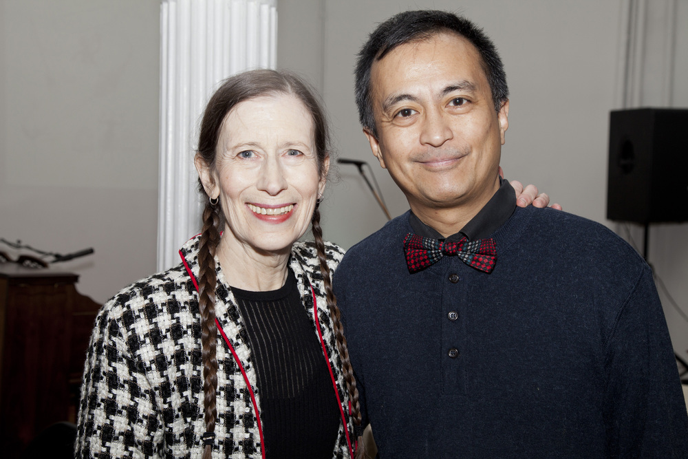 Meredith Monk and Nicky Paraiso
