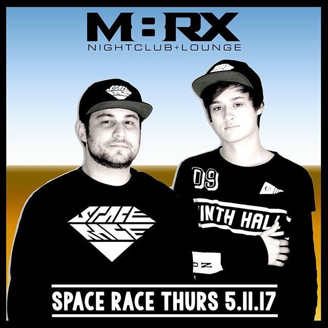 Headed up to Santa Barbara to play at @m8rxsb tomorrow! #santabarbara #sb #m8rxsb #m8rx #trap #bass #spaceracedjs #spacerace