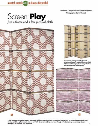 See:  Lambert Folding Screen