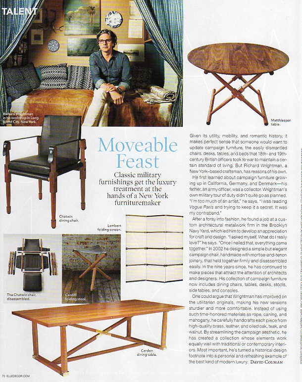 Article in Elle Decor