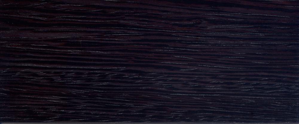 wenge - dark stained