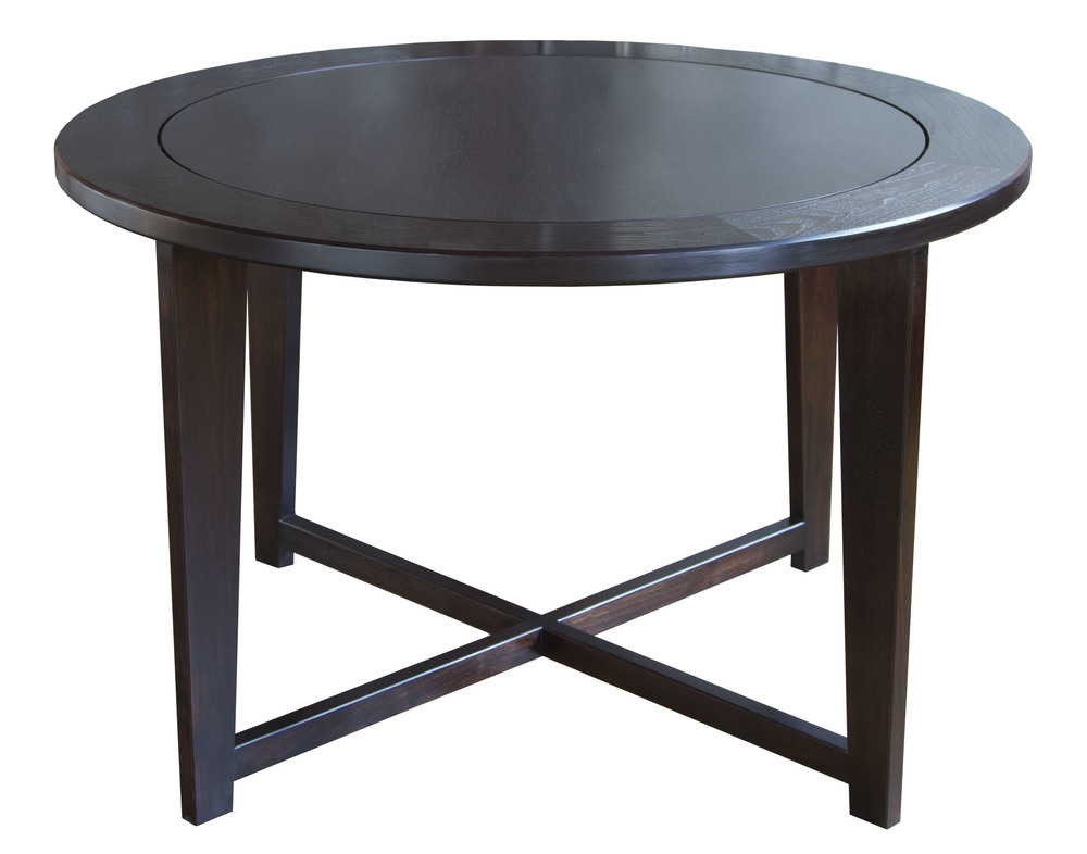 Hendricks Table in walnut - maccassar stain