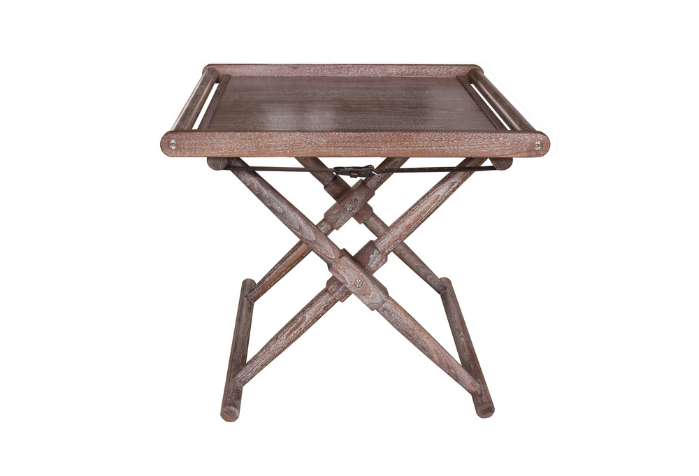 Matthiessen Tray Table in walnut - limed and oiled