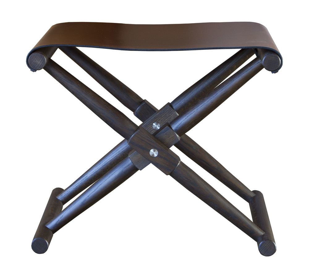 Matthiessen Stool with saddle seat