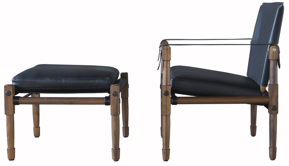 Chatwin Lounge Chair with black straps