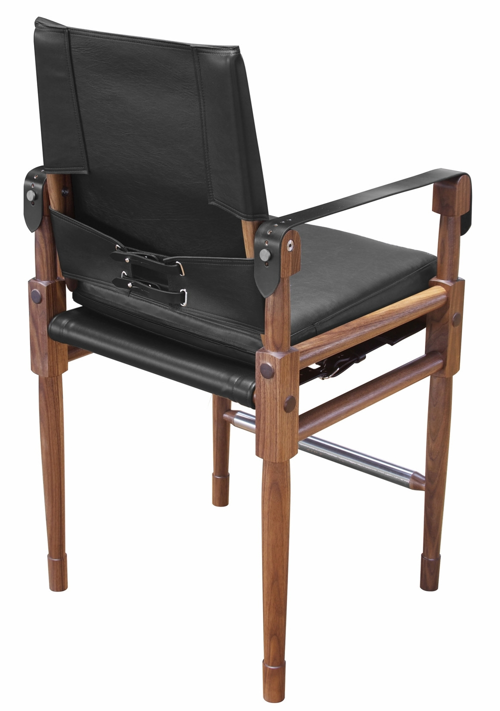 Chatwin Bar Chair with black straps