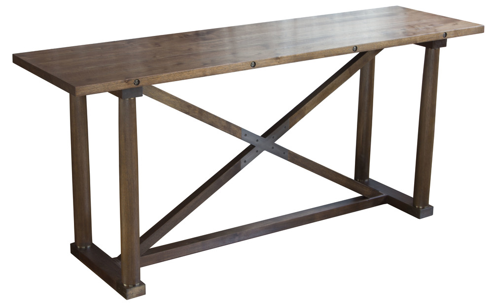 Carden Console in walnut - marrakesh stain