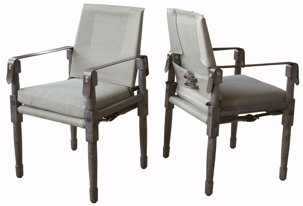 Chatwin Chairs with havana straps