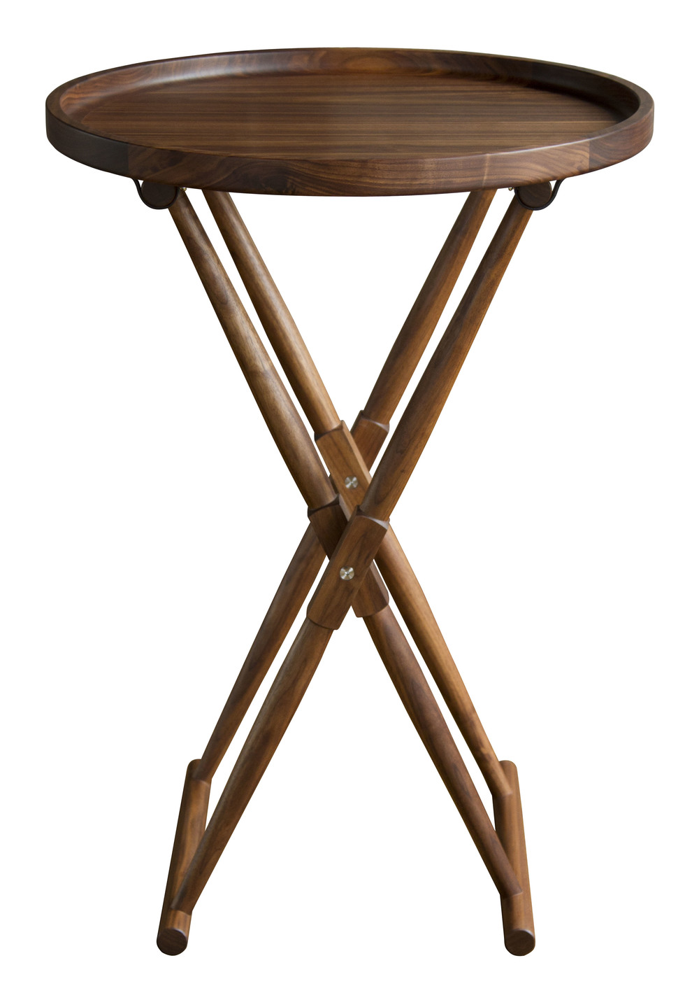 Matthiessen Round Tray Table - Bar Height