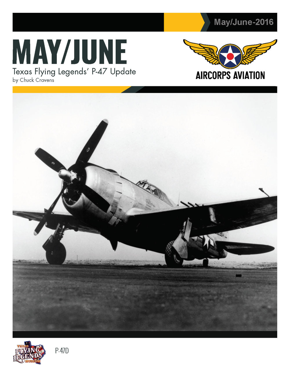 May/June Texas Flying Legends' P-47 Update