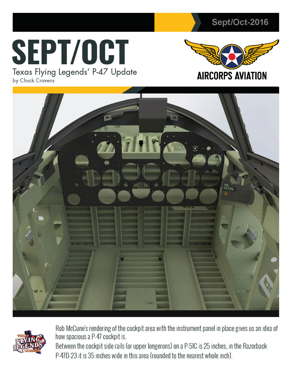 September/October P-47 Update