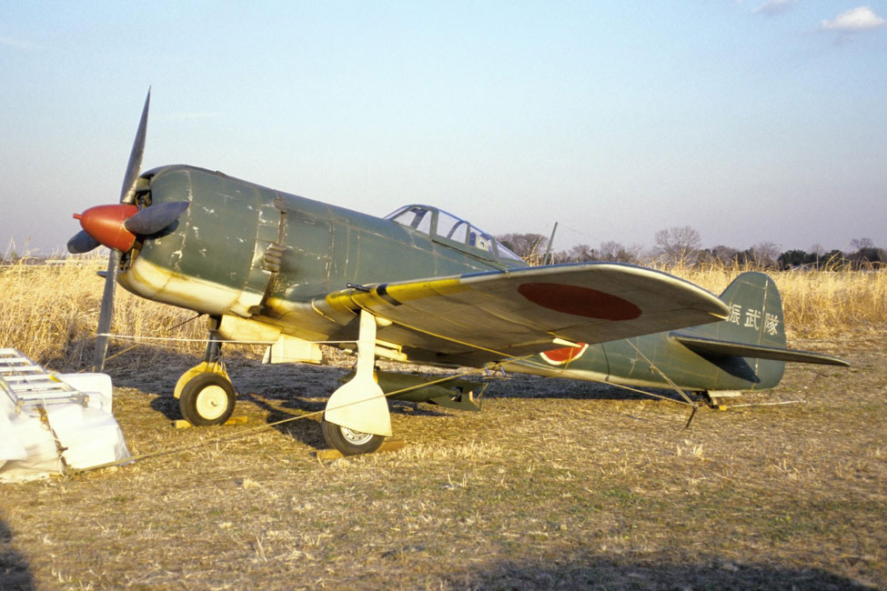 The Nakajima KI-84 Hayate or Frank was considered one of the best Japanese fighters of the war. It was the fastest fighter in the Japanese military that was available in quantity in 1944.