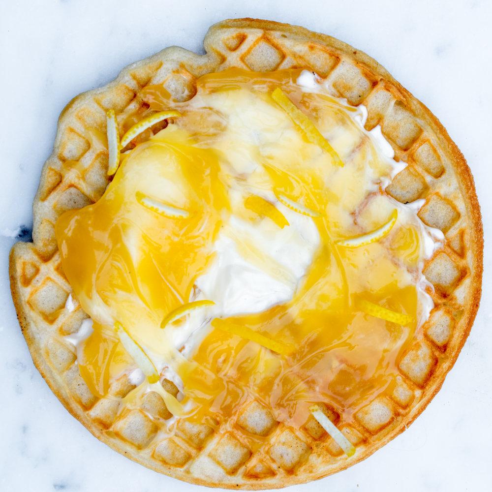 Lemon Curd &crème fraîche
