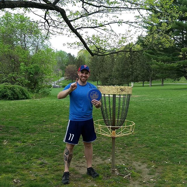 The Drew Williams with an impressive ace tonight on hole 10 LONG!!!!! Buchmiller league night. Congrats Drew!