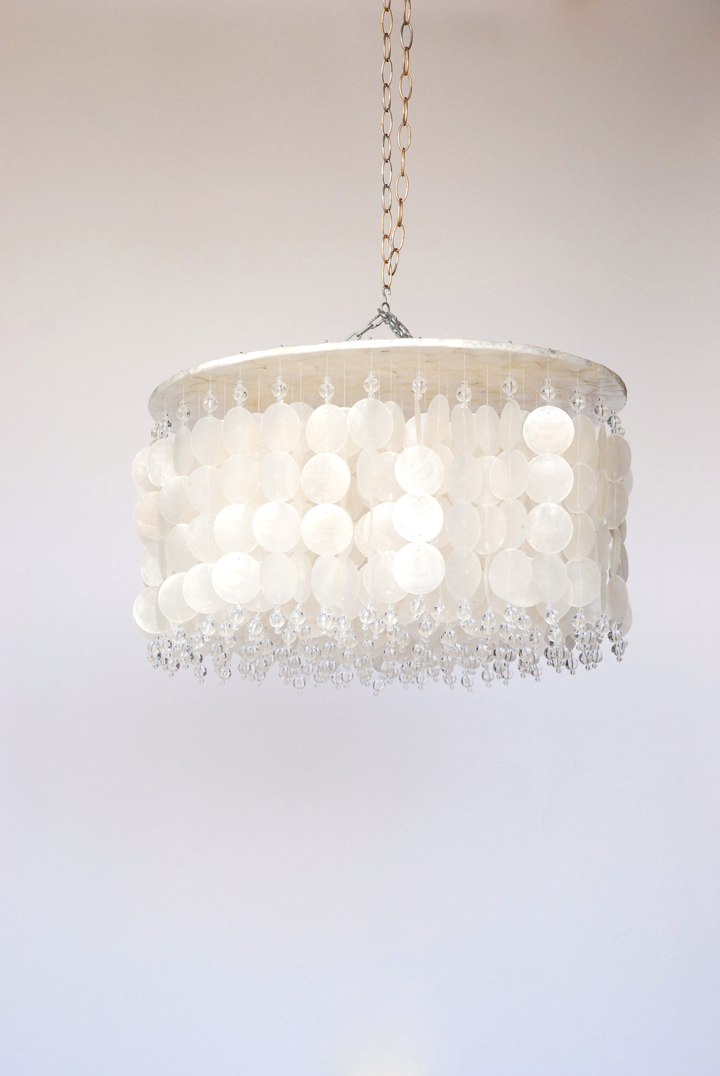 Glimmer Crystal Chandelier