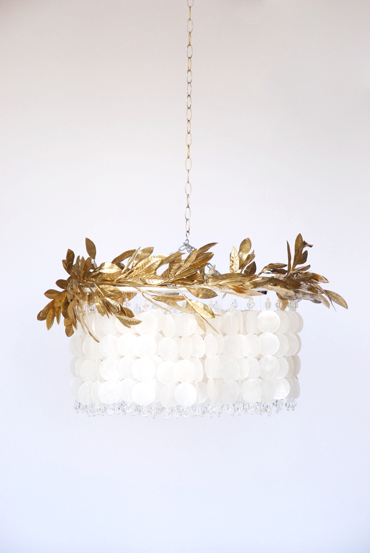 Glimmer Laurel Chandelier