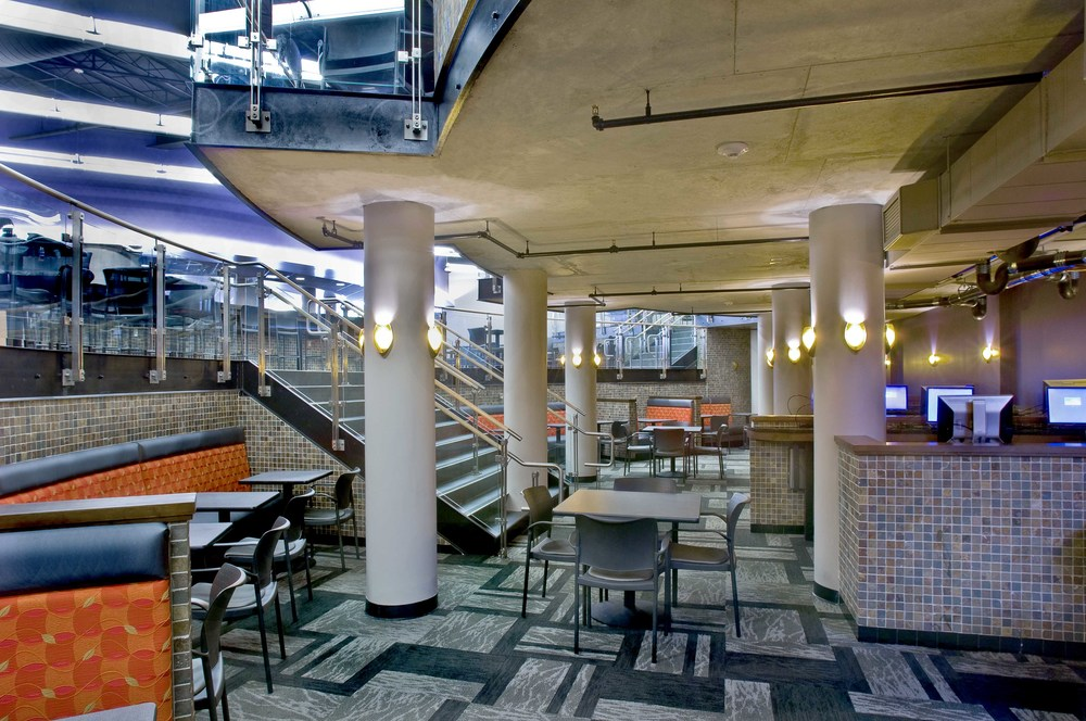 Suny Buffalo State Campbell Student Union Dining Renovations Bhnt Architects P C