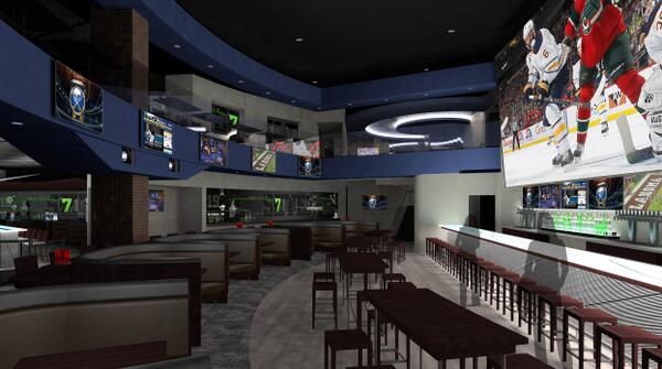 'BEST RESTAURANT/ENTERTAINMENT VENUE' FINALIST: (716) Food & Sport (Rendering; professional images coming soon)