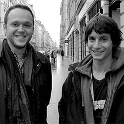 Lamine Madjoubi et Gabriel Pommier, co-fondateurs d'Artistoon