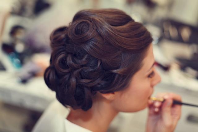 復古 pin curl 髮型
