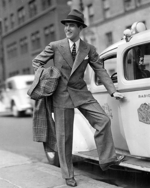1940 年代的西裝