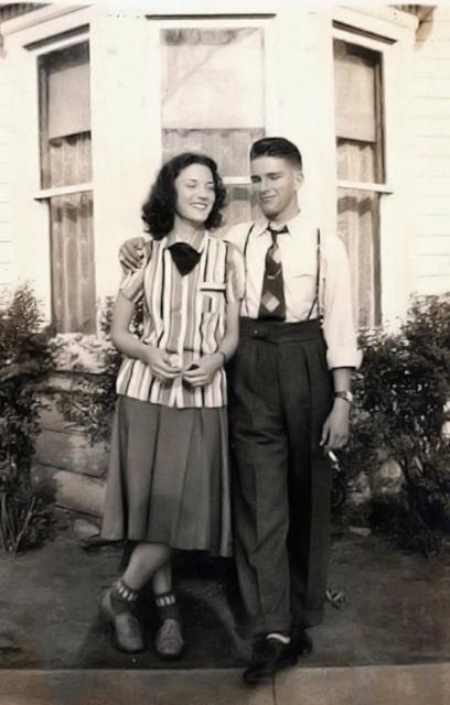 1940 年代情侶