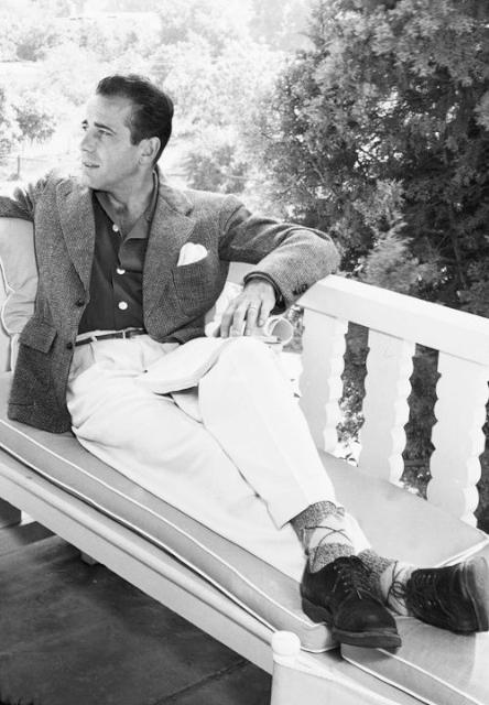 1940 年代,影星Humphrey Bogart