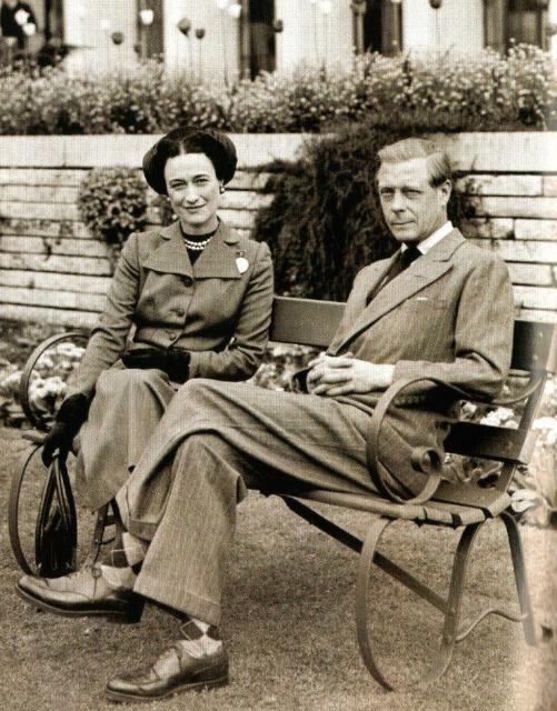 1940 年代,辛普森夫人與溫莎公爵
