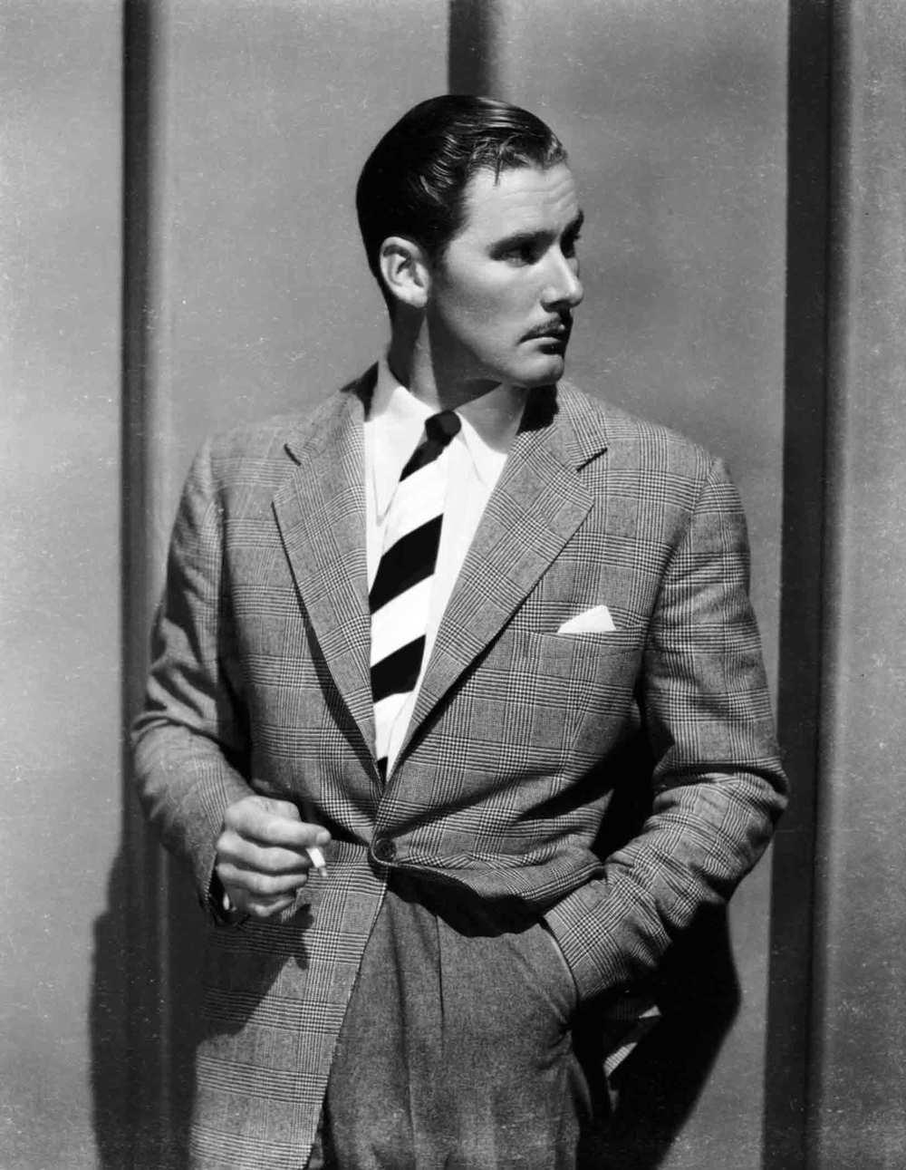 1940 年代,影星 Errol Flynn