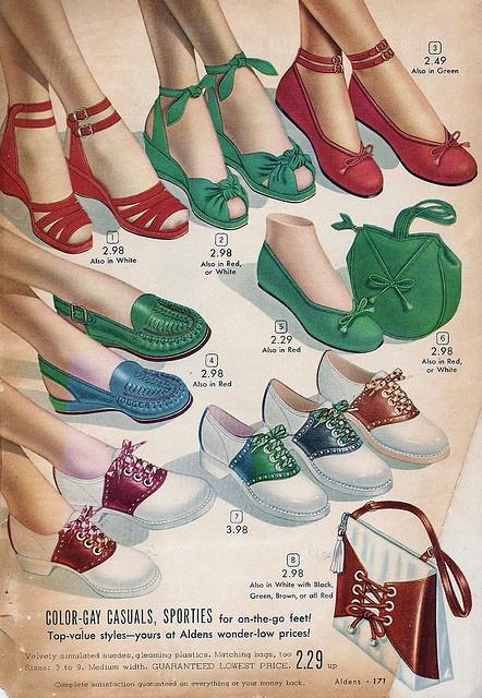 1940 年代鞋子廣告