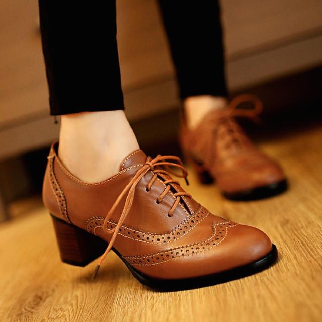 現代牛津鞋