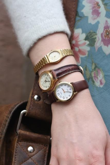 手錶當手環戴