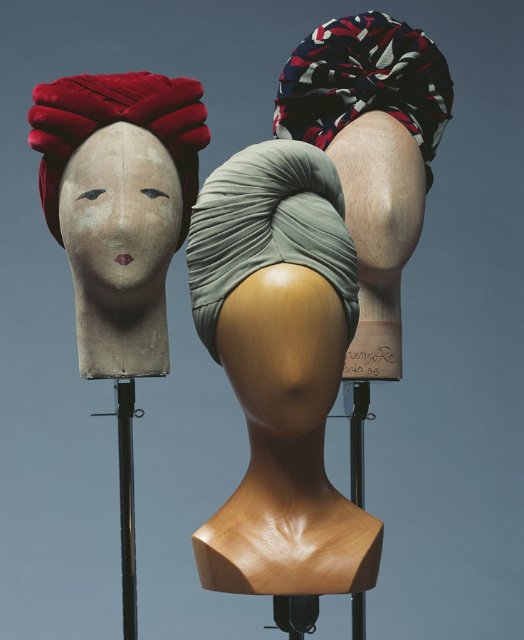 "1940 年代 ""turban"" 帽子"
