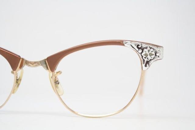 vintage 貓眼眼鏡