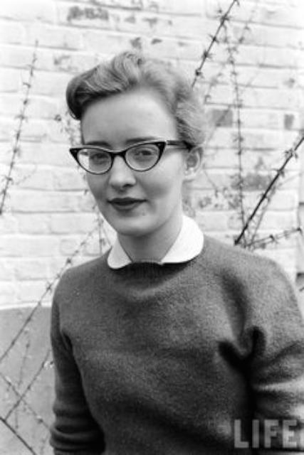 1950 年代貓眼眼鏡