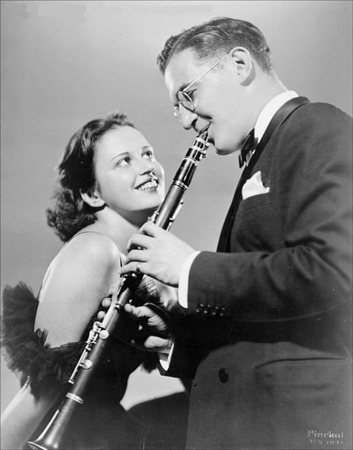 Benny Goodman 與 Helen Ward